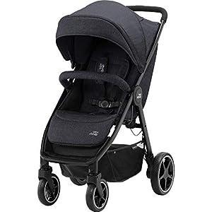 Britax Römer B-Agile M Stroller Pushchair, Birth to 4 Years (22kg), Black Shadow   4