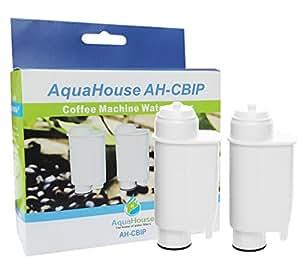 2x AH-CBIP Compatible Cartuccia Filtrante Brita Intenza+ Filtro Acqua per Saeco Philips Gaggia macchina per caffè espresso maker