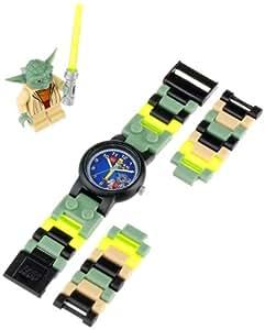 ClicTime -  9002076-8020295- Lego Star Wars Yoda kinderarmbanuhr - mehrfarbige