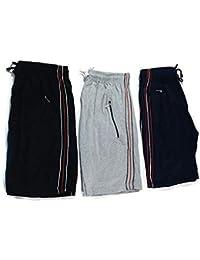 Drp Shoppings Set Of 3 (Multi Color)-Men's Cotton Shorts-XL Size