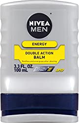 2 Pack - NIVEA FOR MEN Energy, Double Action Balm 3.30 oz