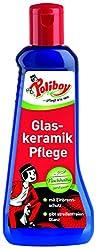 Poliboy - Glaskeramik Pflege - Reinigung und Pflege der Glaskeramik-Kochfelder - gibt streifenfreien Glanz - Einzeln - 200 ml - Made in Germany