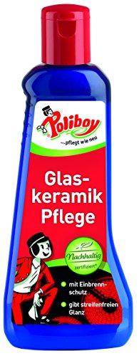 Poliboy - Glaskeramik Pflege - 200 ml - Reinigung und Pflege der Glaskeramik-Kochfelder