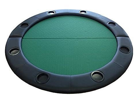 Pokerchips, rund, Tischplatte geeignet Speed Stoffoberfläche 1.22 meters Rückenlehne, Leder, (Texas Holdem Poker Tischdecke)