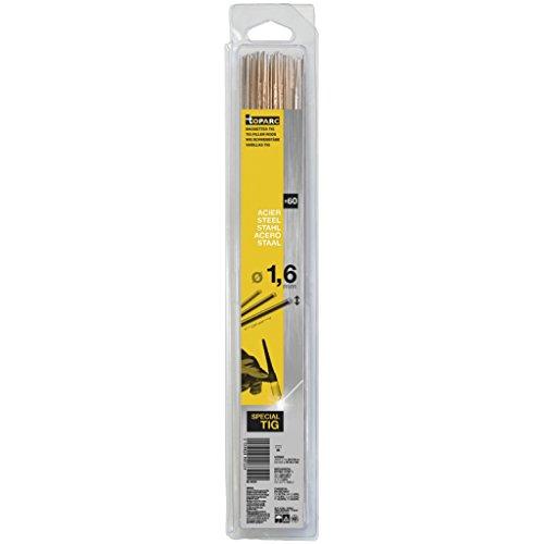 GYS WIG Schweißstäbe, Stahl, Länge 330 mm, Durchmesser 1,6 mm