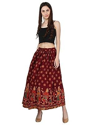 Decot Paradise Women's Cotton A-Line Skirt