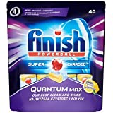Finish Quantum Max Dishwasher Tablets - 40 Pieces (Lemon)