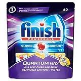 #9: Finish Quantum Max Dishwasher Tablets - 40 Pieces (Lemon)