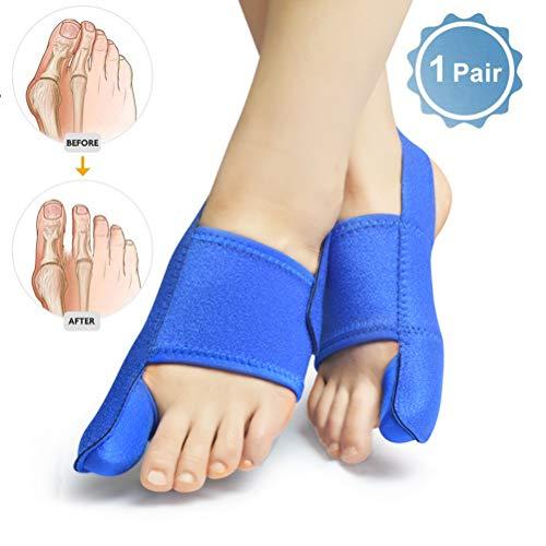 10c340576020 Bunion Corrector Toe Straightener Férula de Noche Ajustable para Dedo Gordo  Hallux Valgus Brace para Dedo superpuesto, Turf Toe, Bunion Pain Relief ...