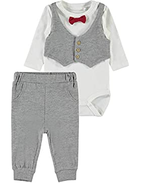 NAME IT Baby-Jungen Bekleidungsset Nbmsefest Ls Body Set