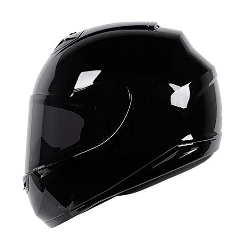 Preisvergleich Produktbild Männer Frauen Moto Motorrad Helm Erwachsene Breathble Cotton Liner Vollgesichtsmotorradhelme Motocross Sicherheitskappen 11 Farben XXL