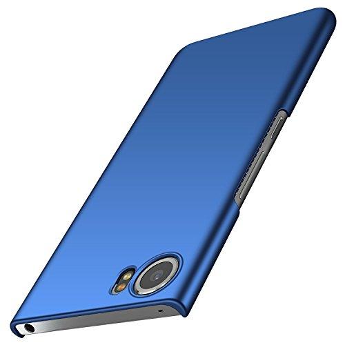 anccer BlackBerry Keyone Hülle, [Serie Matte] Elastische Schockabsorption und Ultra Thin Design für Keyone (Glattes Blau)