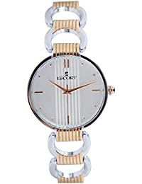 Escort Analog Silver Dial Women's Watch- 4204 RTM