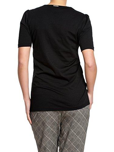 Vive Maria CHARMING GIRL Vintage 50s Kurzarm SHIRT / T-Shirt - Blk Rockabilly Schwarz