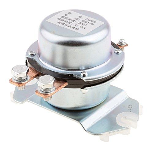 Sharplace Isolateur de Batterie 300A 12V Solenoid Relais Service Continu