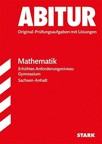 Abiturprüfung Sachsen-Anhalt - Mathematik EA