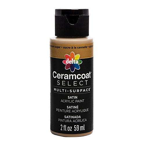 Plaid : Delta Ceramcoat Select Peinture Multi-Surfaces Cannelle Sucre 15 ML