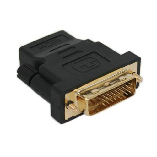 SODIAL(WZ.) DVI-I Dual-Link 24+5 Stecker auf HDMI Buchse Adapter ADPT