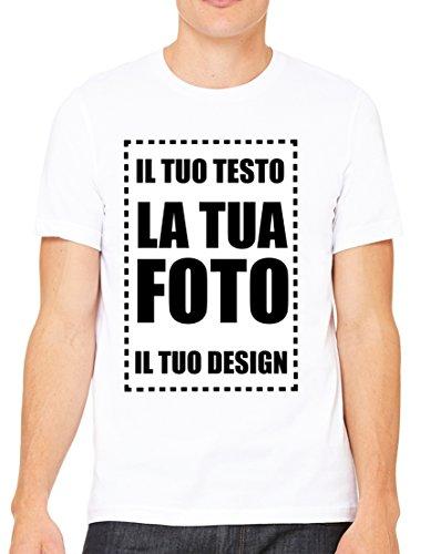 Villagestore personalizza da cellulare smartphone tablet disegni grafica logo messaggio nome la tua t-shirt unisex (stampa fronte)