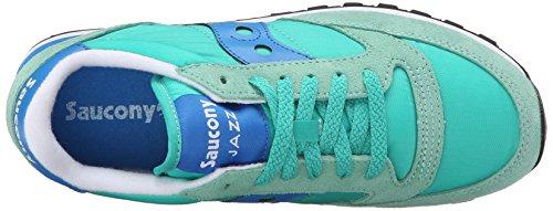 Saucony Damen Jazz Original Sneakers Türkis (Lt Green/Blue)