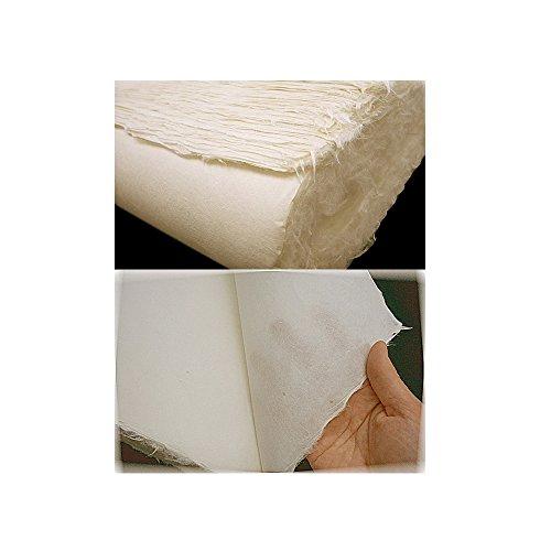 naraon Hanji [3PCS] traditionellem koreanischen Mulberry Papier Hanji handgefertigt Pale Gelb Single Layer 74,9x 145cm (Papier-puppe Handwerk)