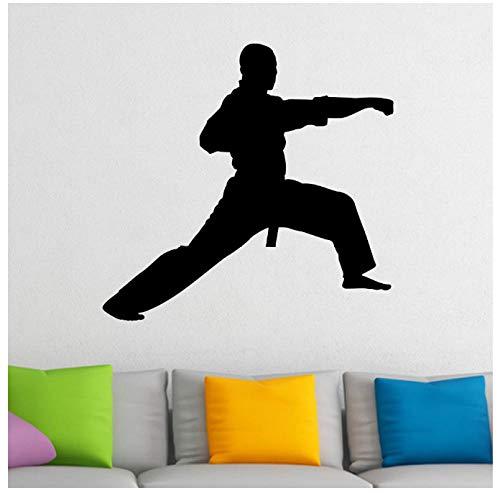 Qinyubing Karate Art Vinyl Aufkleber Wandbild Martial Art Aufkleber Für Jungen Room Decor