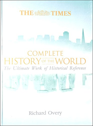 Times Complete History of the World por Richard Overy