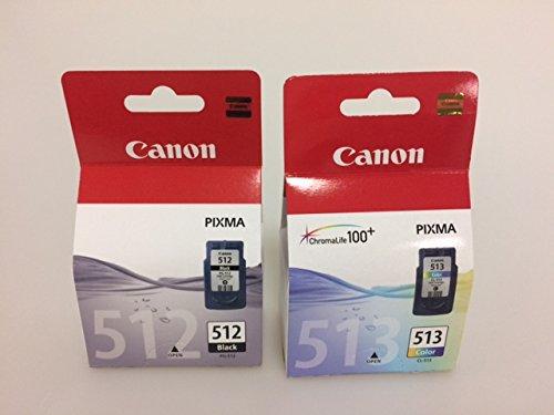 Preisvergleich Produktbild Canon PG-512 XL CL-513XL Multipack original verpackt und versiegelt für viele Canon Pixma Serien