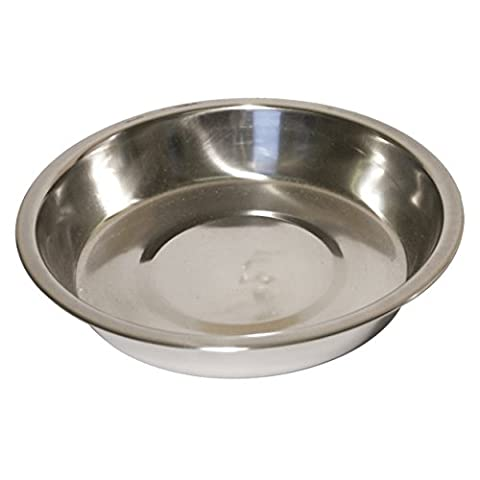 Rosewood Stainless Steel Bowl Shallow Puppy Pan,