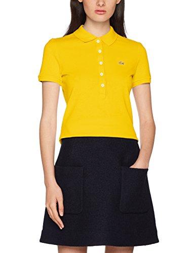Lacoste Damen Poloshirt PF7845, Gelb (Solstice Hxk), 34(Herstellergröße: 36)