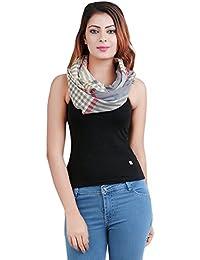 Anekaant Cotton Stripe Stole 50X180 cm