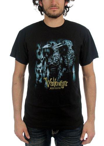 Vallenfyre-T-shirt da uomo profanazione in Nero Nero  nero