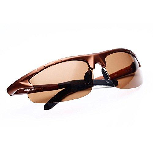 Sonnenbrillen Sonnenbrille Männlich polarisierende Spiegel Fahren Sonnenbrille Männlich Außenrückspiegel Zustrom Von Menschen die Augen bewegen Schütze Deine Augen (Farbe : C)