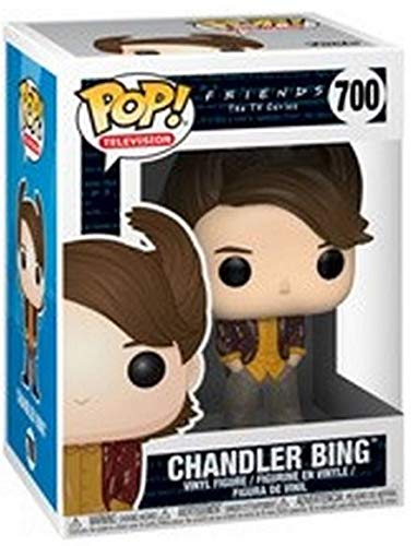 Funko Pop Chandler Bing Peinado 80s (Friends 700) Funko Pop Friends