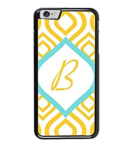 HiFi High Glossy Designer Phone Back Case Cover Apple iPhone 6S ( B Alphabet Colorful Pattern Design )