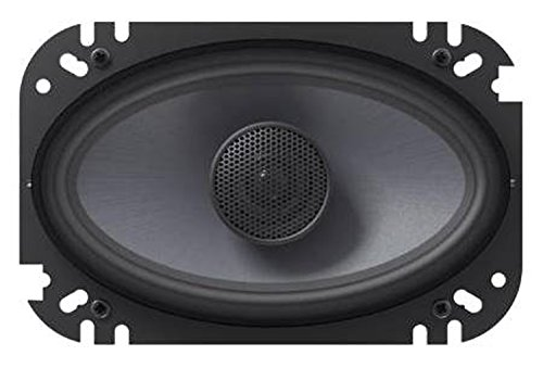 JBL GTO 6429 4x6 Inch 2-Way Coaxial In-Car Audio Speakers (Pair) Without Grille - Black