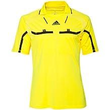 Adidas camiseta de árbitro Fútbol camiseta Hombre Formotion Climacool Fútbol  manga corta - neon amarillo e13fc2fa476c3