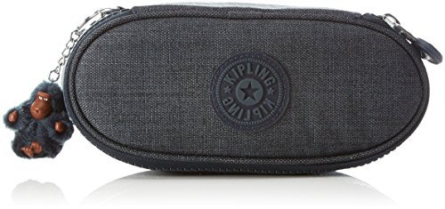 Kipling - duobox - astuccio medio - jeans true blue - (blu)