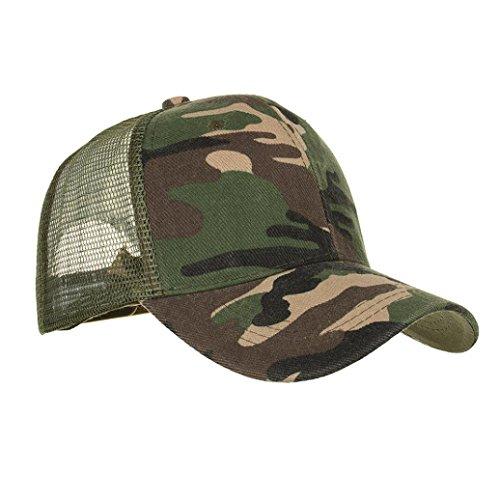 HARRYSTORE Men Women Camouflage Baseball Flat Cap - Unisex Boys Girls Cotton  Mesh Vintage 8d0b68d8780b