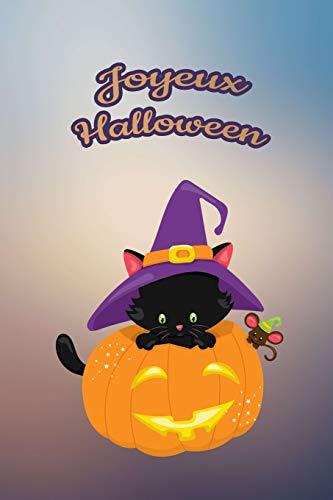 ur nos petits : Petit carnet de notes de 121 pages blanches avec couverture et pages sur le thème d'Halloween (Mon petit journal d'Halloween, Band 25) ()