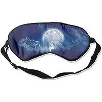 Moon Moonlight Night Clouds Sleep Eyes Masks - Comfortable Sleeping Mask Eye Cover For Travelling Night Noon Nap... preisvergleich bei billige-tabletten.eu