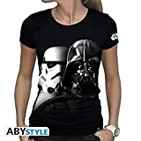 ABYstyle Abysse Corp_ABYTEX382 Star Wars-T-Shirt Vador-Troopers Woman...