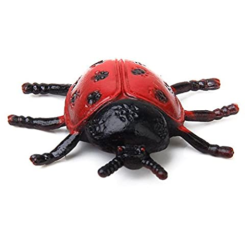 SODIAL(R) 2pcs Lovely Ladybird Ladybug Insect Toy for Kids Home Decoration