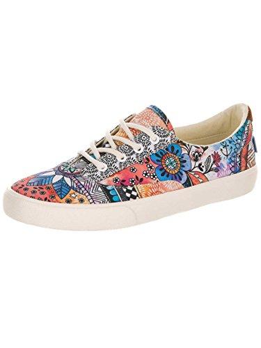 Chaussures de Skate Malia jusqu'en dentelle pour femme Animal/Plimsoles Multicoloured
