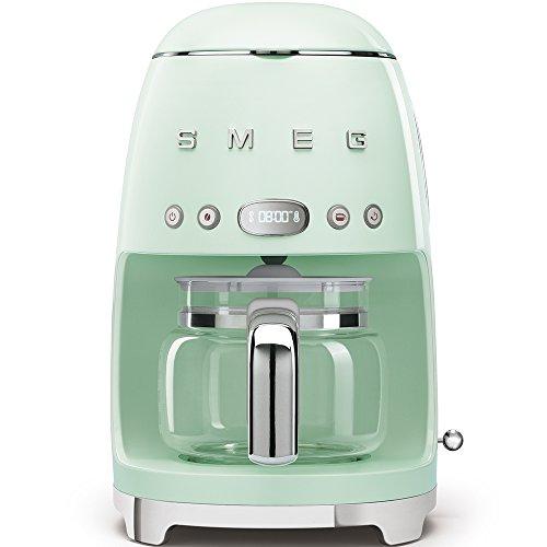 Smeg DCF01PGEU Cafetière filtre Vert pastel