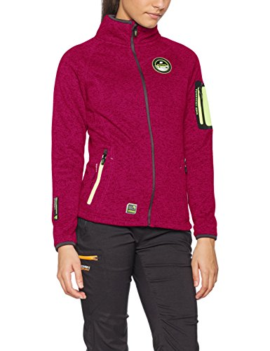 Geographical Norway Trapeze Lady, Chaqueta para Mujer, Rosa (Flashy Pink Flashy Pink), Large
