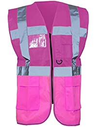 Yoko Hi-Vis Premium Executive/Manager Waistcoat / Jacket