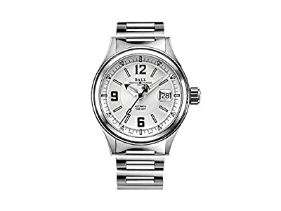 Ball Fireman Racer Automatic Watch, Ball RR1103, White, NM2088C-S2J-WHBK