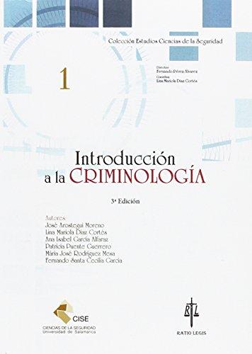 Introducción a la criminología (Universidad de Salamanca. Ciencias de la Seguridad)