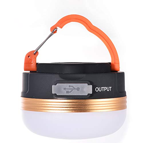 Emergency Lantern (5W Outdoor Camping Tent Light - USB Rechargeable Ultra Bright 180lm Lamp Emergency Lantern Portable 1800mAh Battery Capacity)
